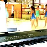 cours de danse avec piano