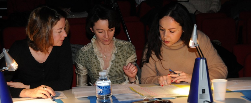 Photo de Jury du Concours Aquitain de Danse 11 et 12 Fev 2012
